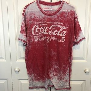 Coca-Cola graphic short sleeve Tee Size Large
